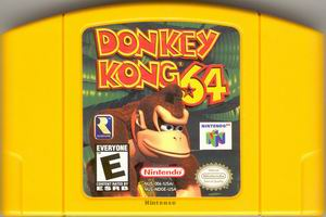 Donkey Kong 64 (USA) Cart Scan